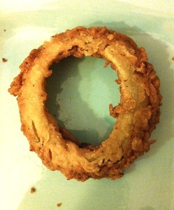 O, onion ring(s), you will be missed.